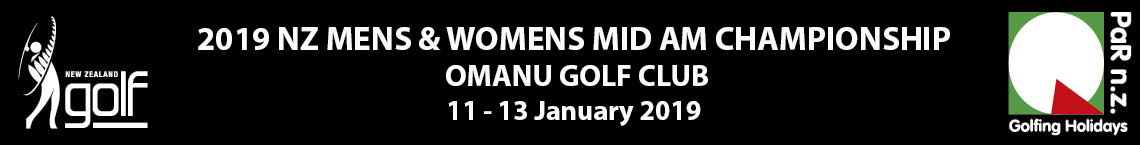 2019 NZ Mens and Womens Mid Am Championship